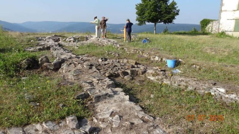 08 vue du chantier archéologique