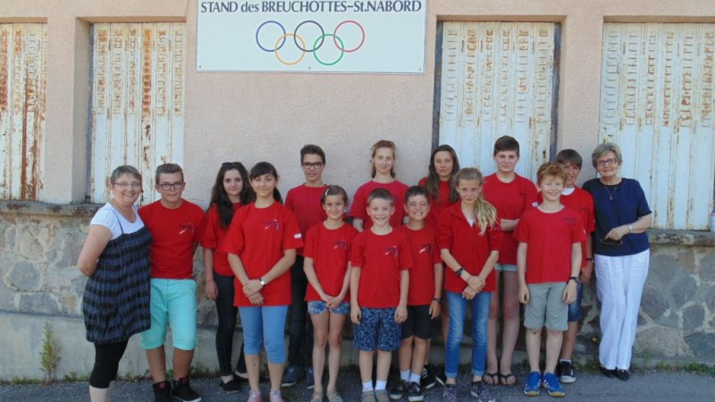Colette, Isabelle et les jeunes qualifiés pour Chambéry