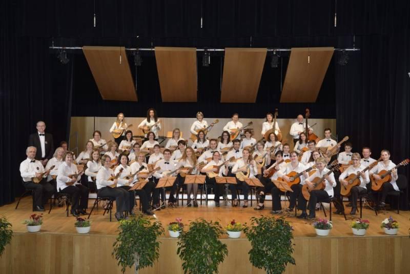 Photo orchestre des mandolines