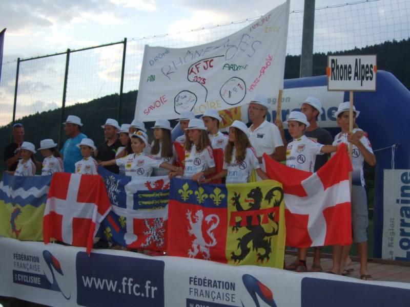 Rhône-Alpes s'adjuge le Grand Trophée 2015.