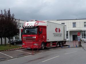 00 camion de libraison scanner