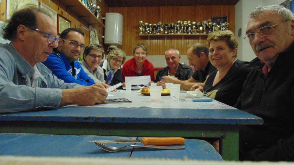 photo réunion de comité août 2015