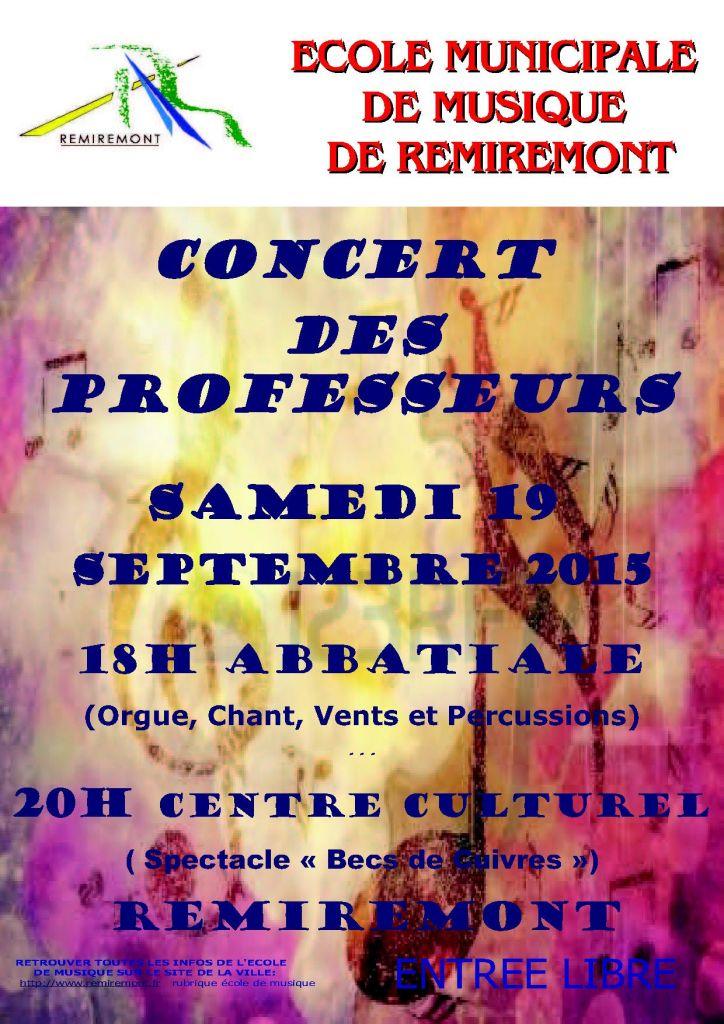 Affiche concert profs 2015