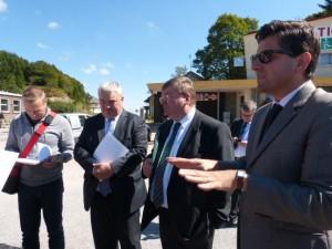 Explication du projet auprès également de la presse alsacienne.