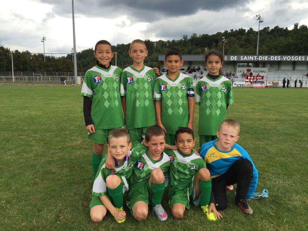 L'équipe 1 des U11 était en tournoi à Saint-Dié-des-Vosges.