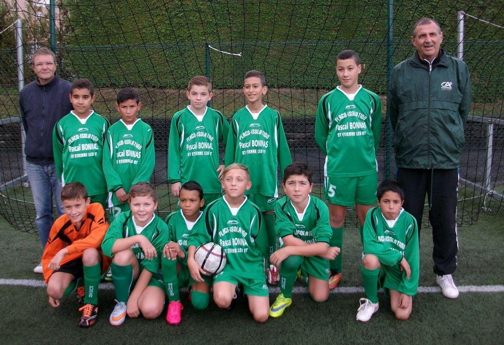 Au Bois des Petits, l'équipe 2 des U13 s'est inclinée 3 buts à 1 contre l'équipe 1 de Arches.