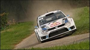 Le champion du monde Sébastien Vosgien était engagé dans le rallye Vosgien en 2011.