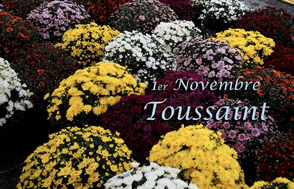 1er novembre, fête de La Toussaint