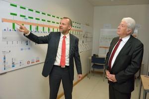 Le directeur régional de APRR Guillaume Hérent a présenté à l'assemblée les différentes caractéristiques du tunnel Maurice Lemaire.