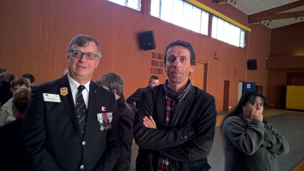 Jean-Luc Jeangeorges a retrouvé l'un de ses petits-cousins.