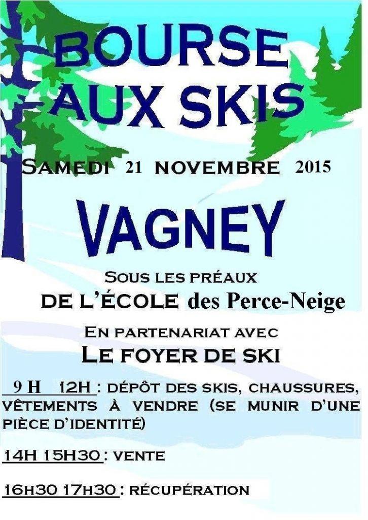 2015 affiche bourse aux skis Vagney