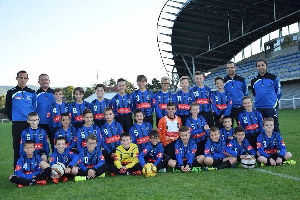L'équipe des U13.