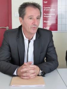 Pierre-Jean Robinot élu d'opposition à la mairie d'Epinal.