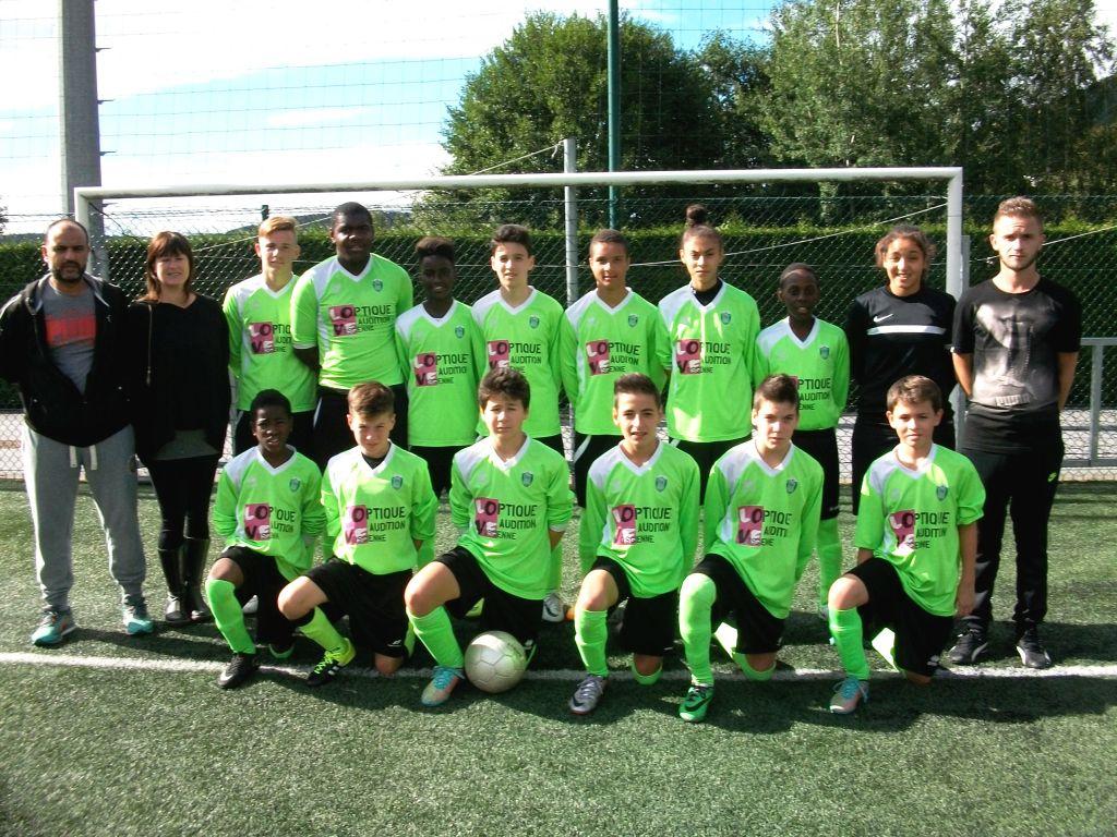 Les U15 ont débuté leur nouveau championnat par une large victoire contre Nomexy.