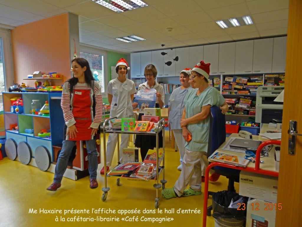 04 Cadeaux offerts au service de pédiatrie