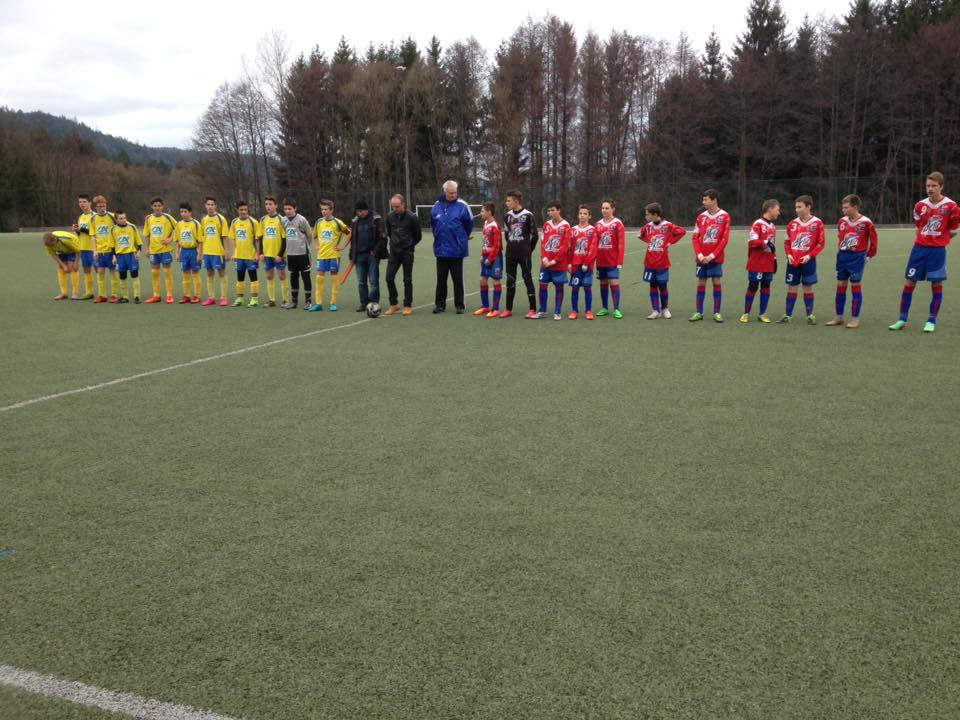 Les U15 de l'entente Vganey-LeTholy victorieux sur le score de 5-1 face à Saint-Amé-Julienrupt.
