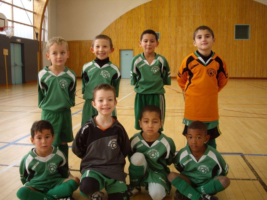 Les U7 stéphanois ont ouvert la saison de Futsal par un plateau à Saint Etienne-lès-Remiremont.
