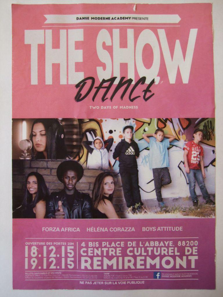 The Show Dance les 18 et 19 décembre