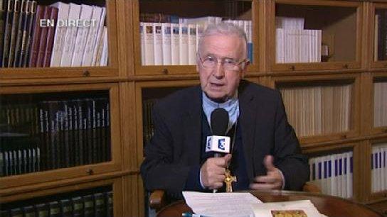© France Télévisions Jean-Paul Mathieu, évêque de Saint-Dié-des-Vosges.