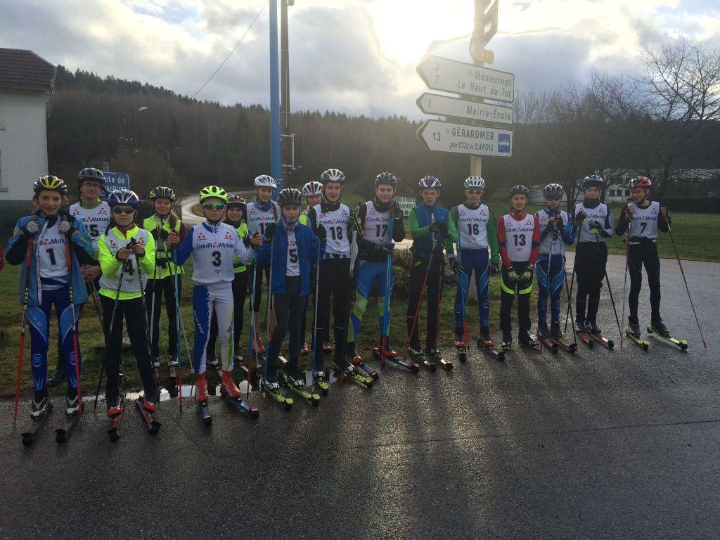 chrono ski roues 3 Janvier