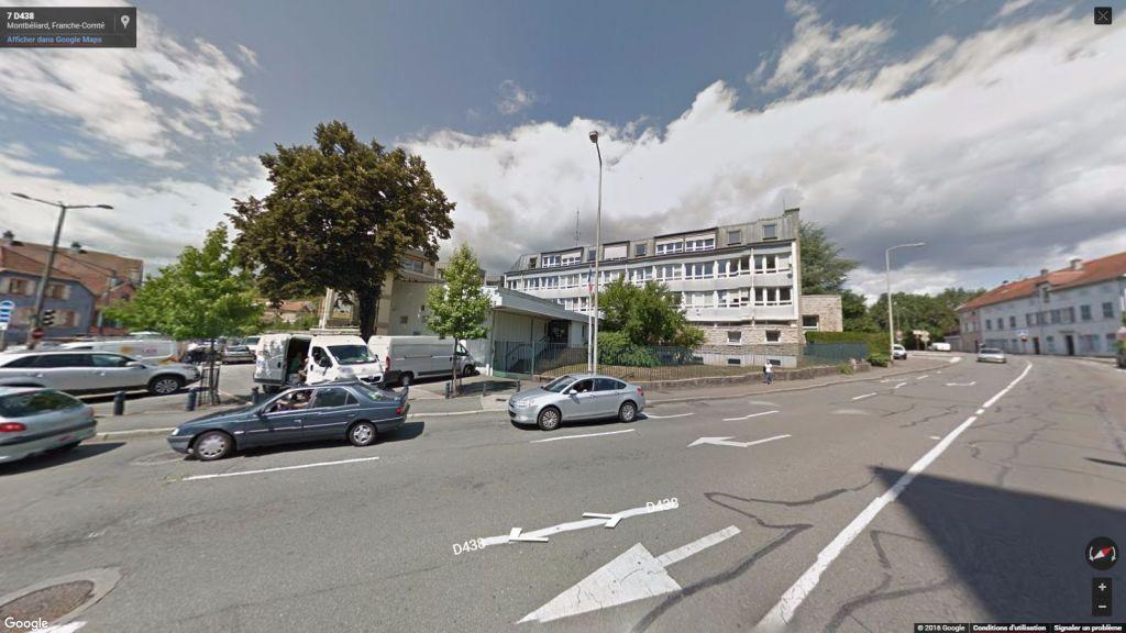 Le commissariat de police de Montbéliard.