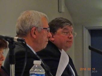 Bernard Godfroy avait invité François Vannson.