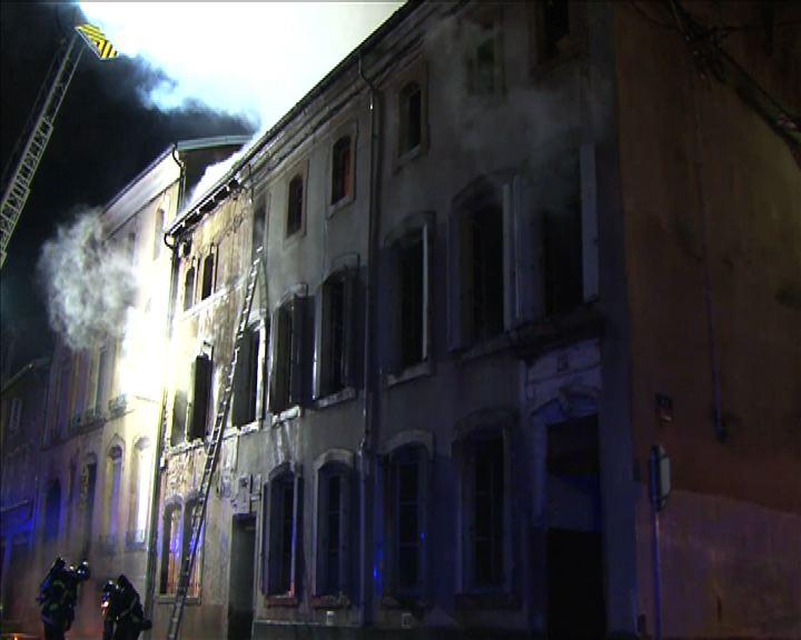 Incendie 1 Rambervillers 26 fév 2016