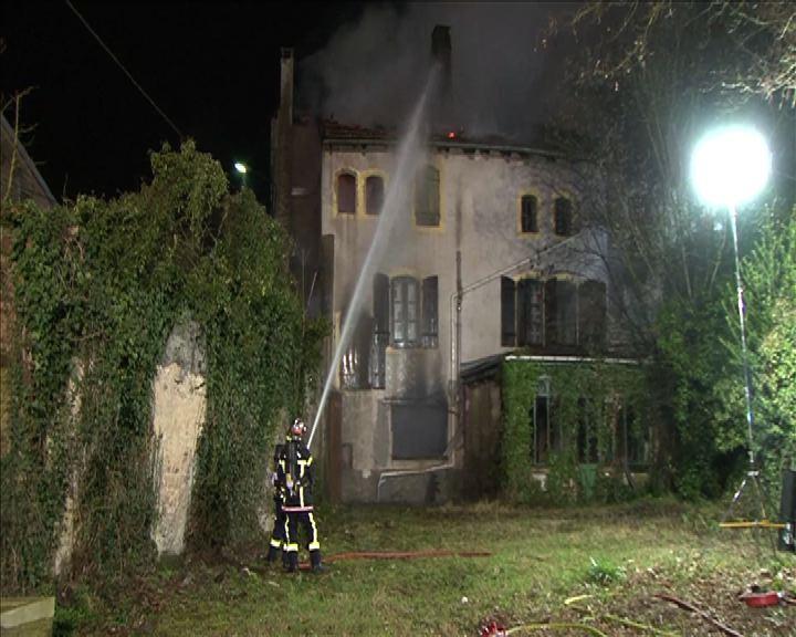 Incendie Rambervillers 26 fév 2016