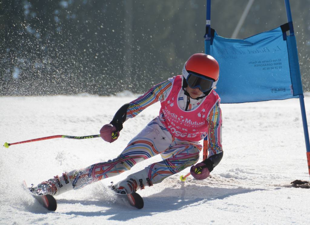 Charlotte Clément (La Bressaude) a remporté ses quatre courses dans la catégorie des U14 ce week-end à Gérardmer.