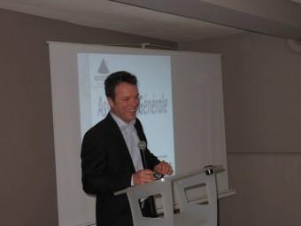 Xavier Grimon, président de l'UMIH88.