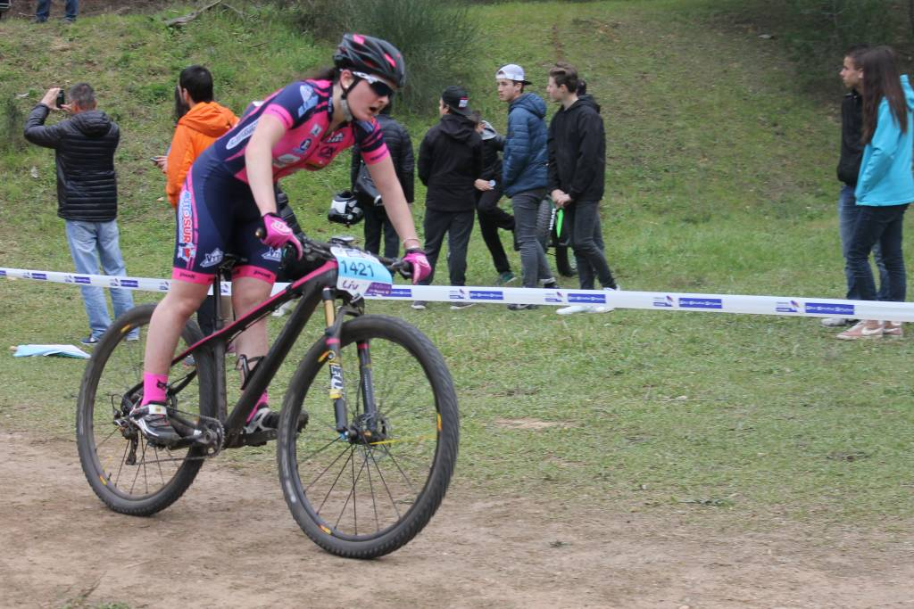 Amélie Fleurot 16ème des juniors filles.