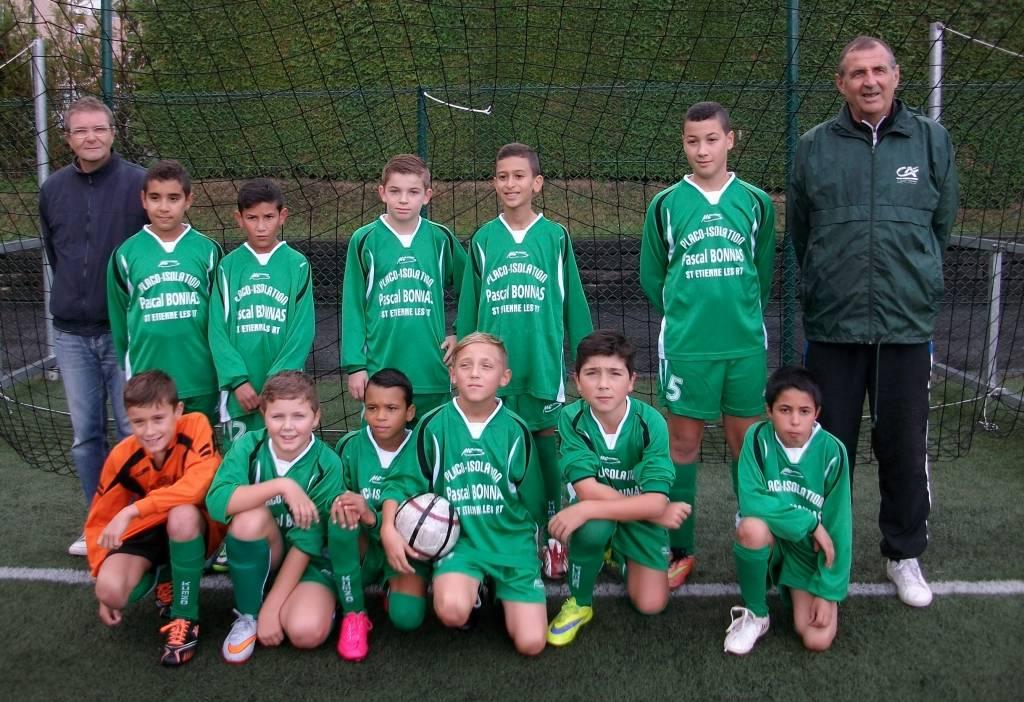 Bon match de l'équipe U13 excellence qui a dominé Arches 5 buts à 1.