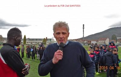 Joël Gantois, le président du FC Remiremont.