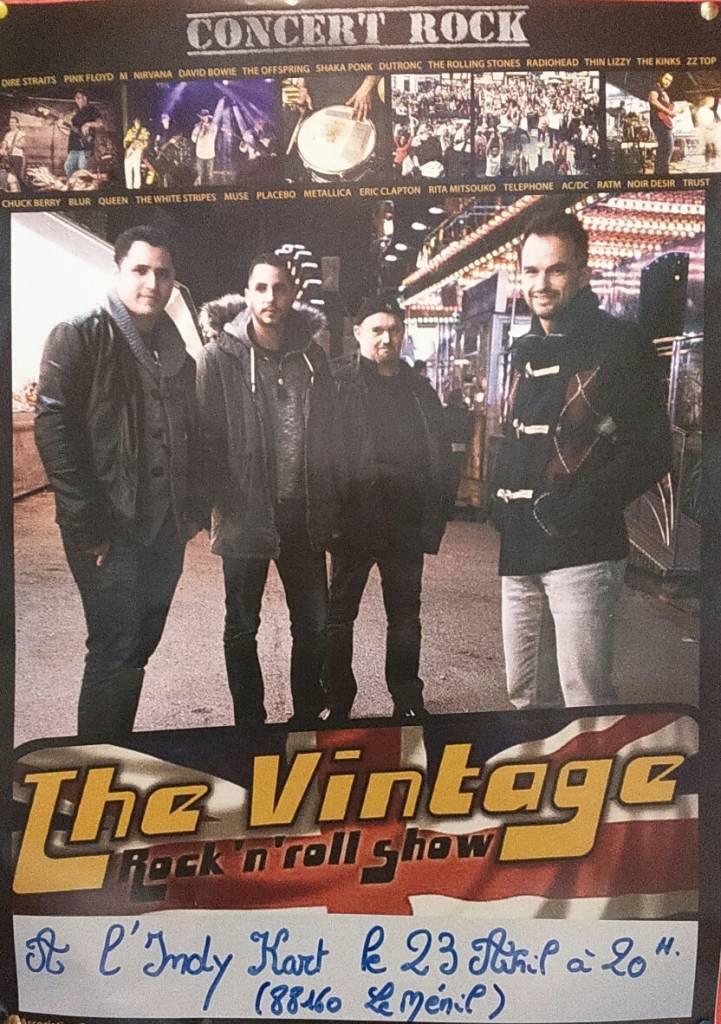 Concert Thé Vintage
