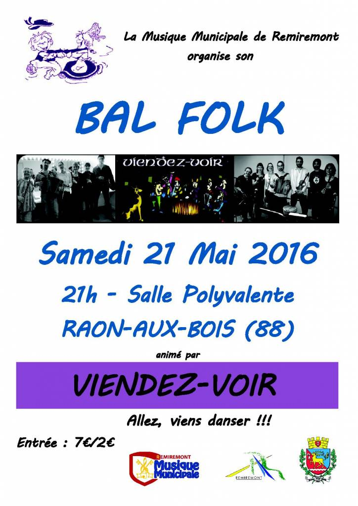 Affiche bal folk MM 2016