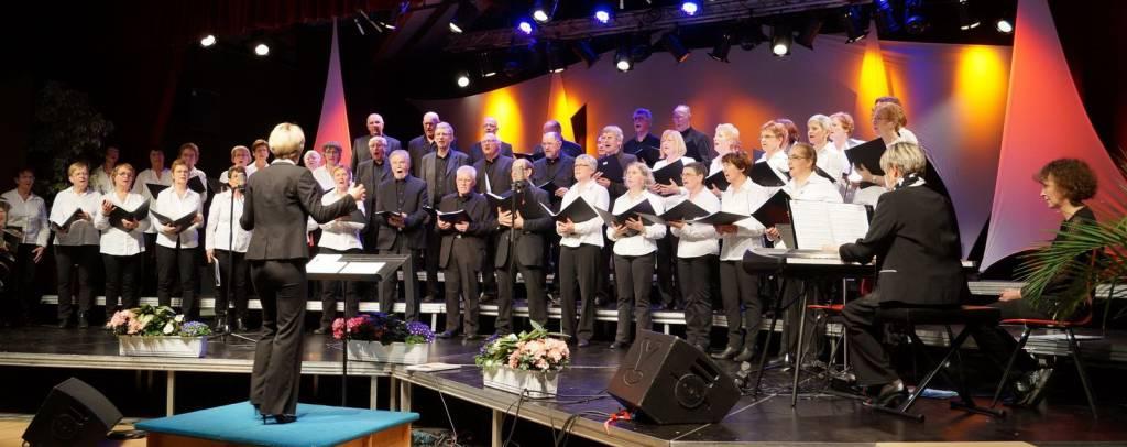 JCB N°506 Le Choeur des Abbesses en concert image d'archive