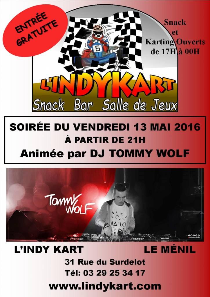 Soirée DJ Vendredi 13 MAI 2016