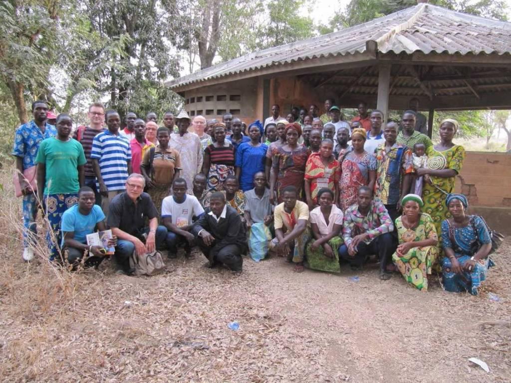 Projet d'appui aux coopératives des femmes pour la transformation du manioc dans la Région centrale du Togo, porté par l'Agence Régionale de Coopération et Développement de Champagne-Ardenne, © Région Alsace Champagne-Ardenne Lorraine.