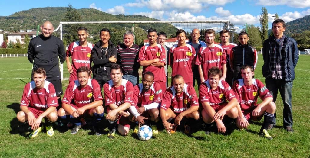 L'équipe seniors 2015-2016