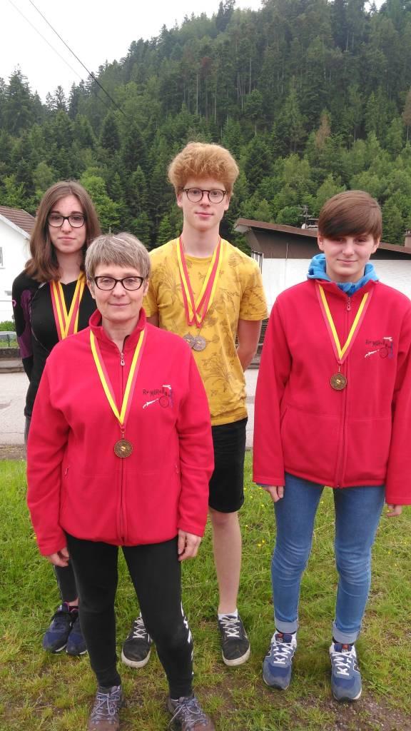 Médaillés Juin 2016