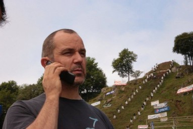 Damien Antoine, le président de la Bressaude-moto depuis onze ans.