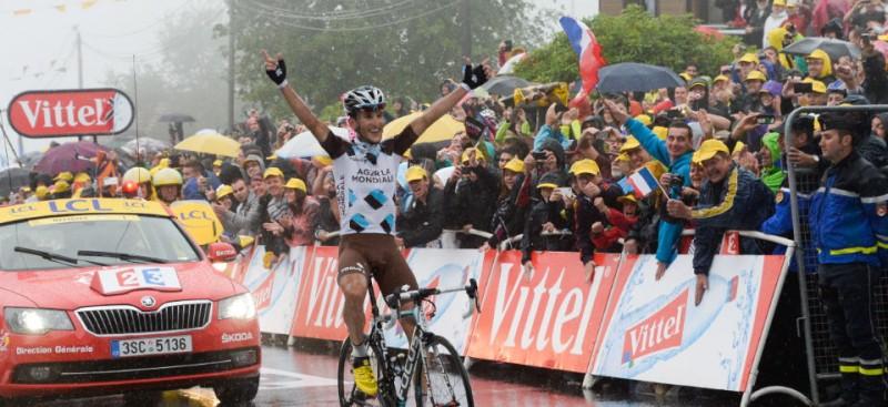 L'arrivée du Tour de France à Gérardmer en 2015.