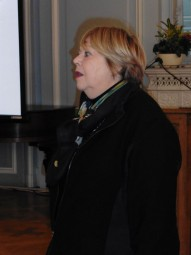 Christiane Wininger, première adjointe. Photographie d'archives.