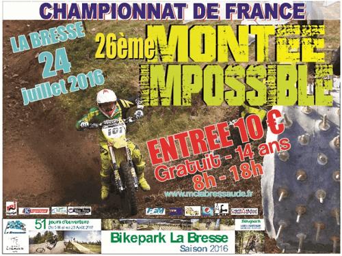 Montée impossible à La Bresse édition 2016