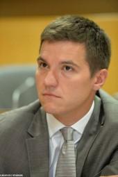 David Valence, maire de Saint-Dié-des-Vosges.