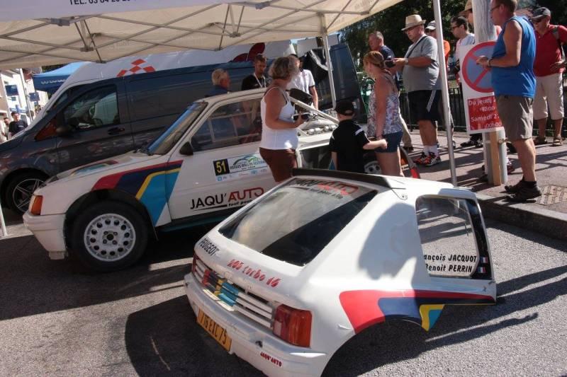 Le Vosges Rallye Festival continue ce samedi 27 août 2016 à La Bresse.