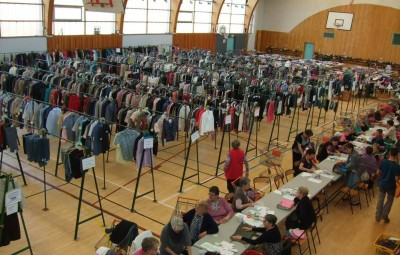 Bourse aux vêtements (photo archives 2015)