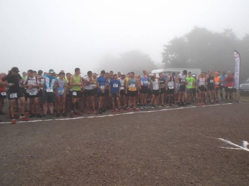 Départ trail 9-08-2015