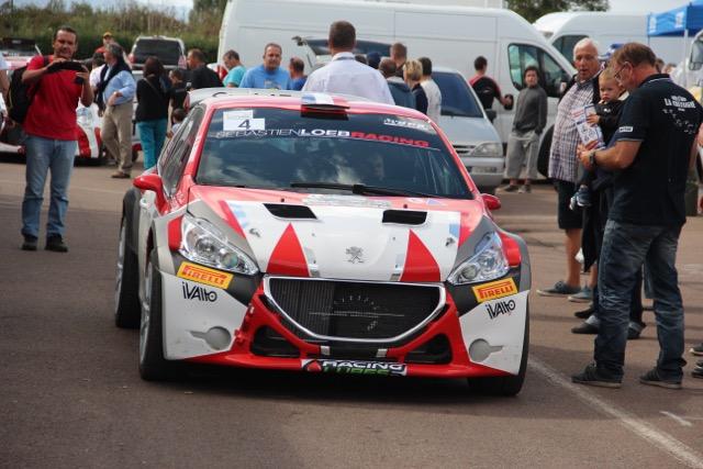 Dominique Rebout a signé une belle victoire dimanche dernier au rallye d'Autun (Photo Autun Infos).