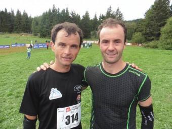 Sylvain Mougel 4e et son cousin Hervé Mougel 3e.